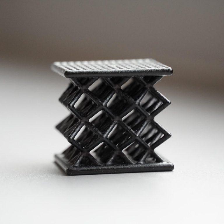 Würfel mit Gitterstruktur