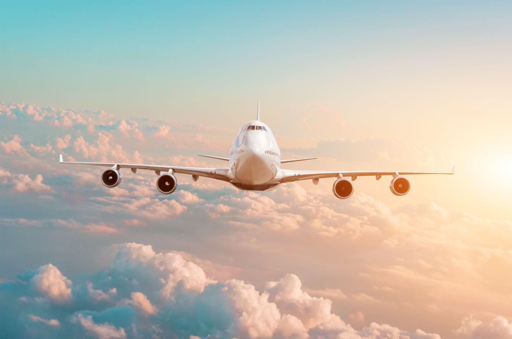 Darstellung Flugzeug